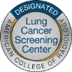 ACR Lung Cancer Screening Designation badge