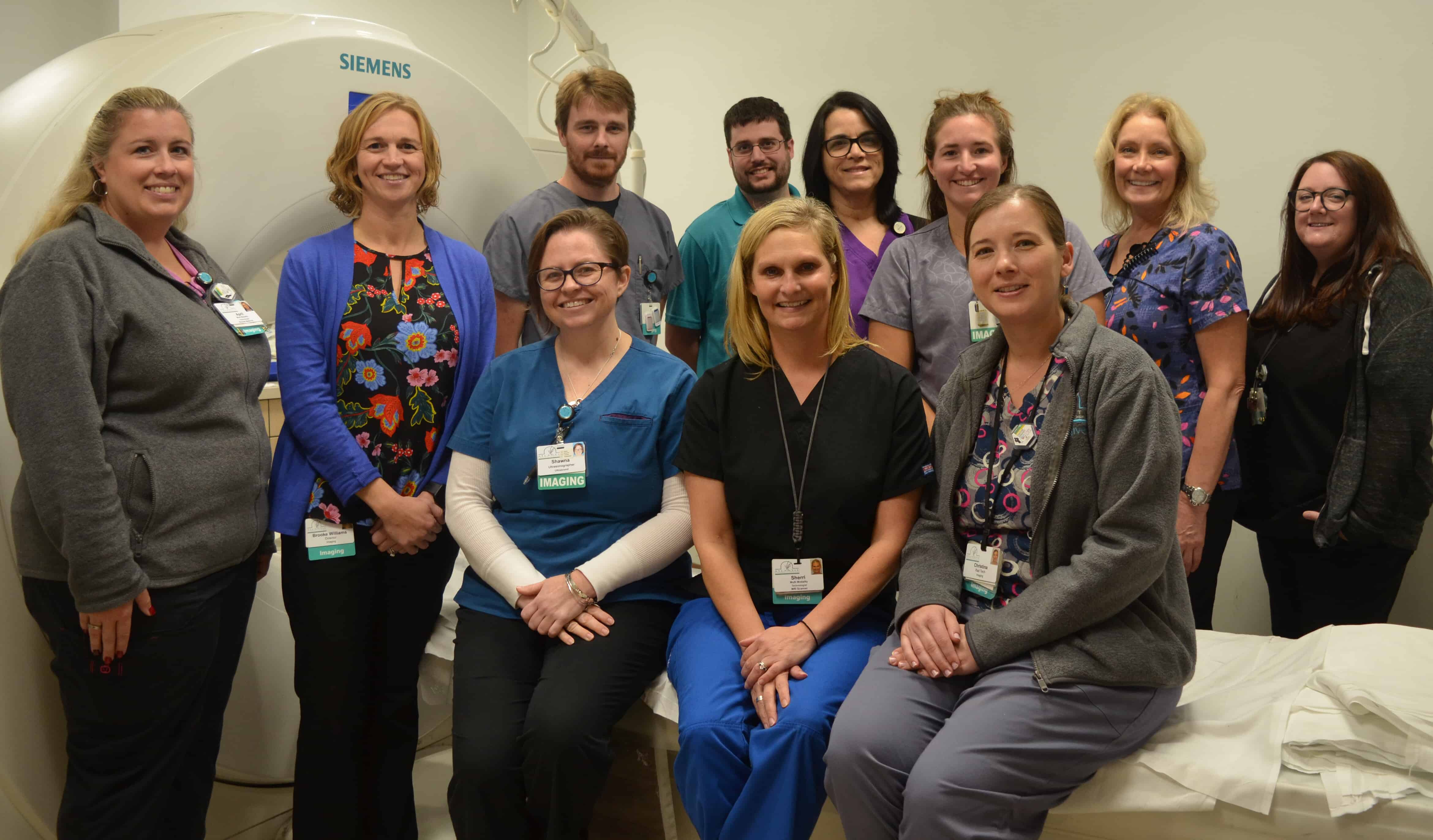 picture of imaging and radiology staff